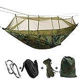 Goodjobb Durable Tent Hammock Hanging Camping Tents Mosquito Net Parachute Hammock Outdoors 4color Practical