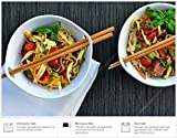 (2-Pack) Porcelain Noodle Soup Bowl with Bamboo Chopsticks and Ceramic Spoon (20 oz Bowl)- Perfect Bowls for Soup Noodles Cereal Pho Popcorn Oatmeal - Dishwasher Microwave Safe