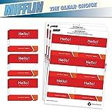 "Mifflin Name Badge Inserts, 3""x4"" or 4""x3"" Badge"