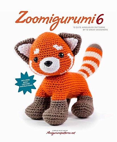 Zoomigurumi 6: 15 Cute Amigurumi Patterns by 15 Great Designers [Amigurumipatterns.net] (Tapa Blanda)