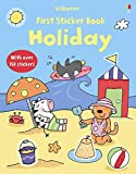 Holiday (Usborne First Sticker Books)