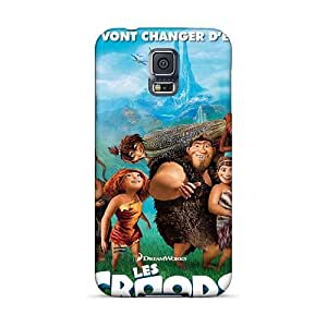 CristinaKlengenberg Samsung Galaxy S5 Anti-Scratch Hard Phone Covers Custom Attractive The Croods Pattern [TWC11467ANAL]