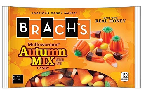 Brach's Mellowcreme Autumn Mix Candy, 17.8 Oz Candy Corn (Pack of 2)