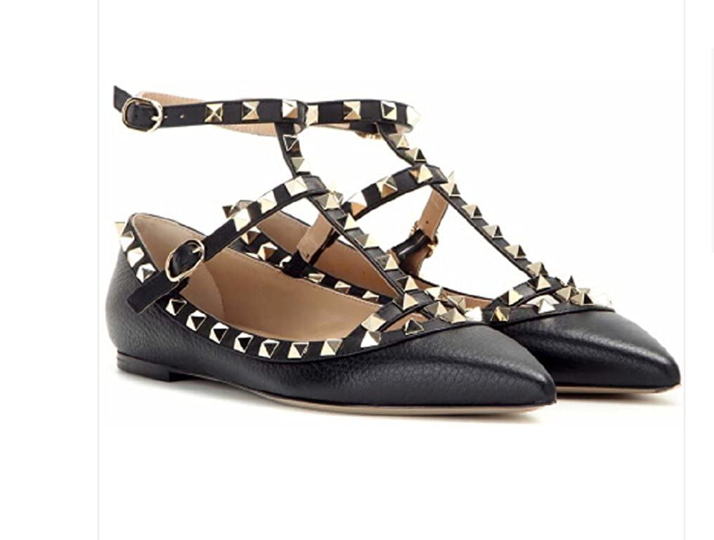 Valentino Ballet Garavani Women's Black Ballet Valentino Flats Shoes B07FZ6PZC5 40EU b625ec