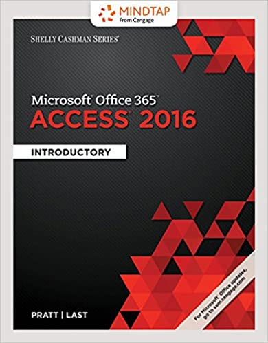 MindTap Computing, 1 term (6 months) Printed Access Card for Pratt/Last's Shelly Cashman Series Microsoft Office 365 & Access 2016: Comprehensive