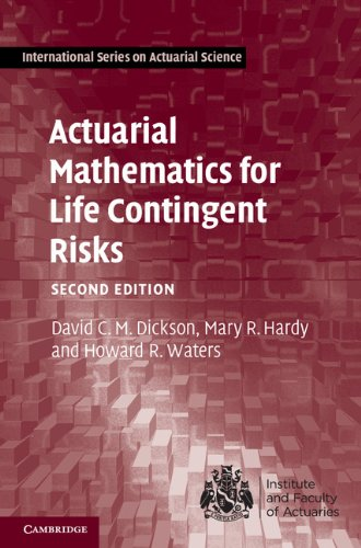 Pdf Science Actuarial Mathematics for Life Contingent Risks (International Series on Actuarial Science)