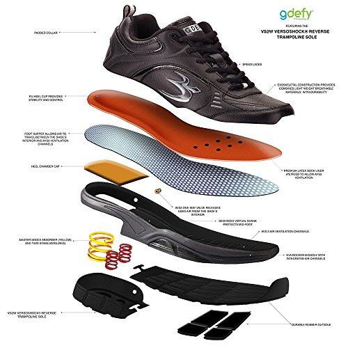 Zwaartekracht Defyer Heren G-tart Extora Ii Sportschoenen Black