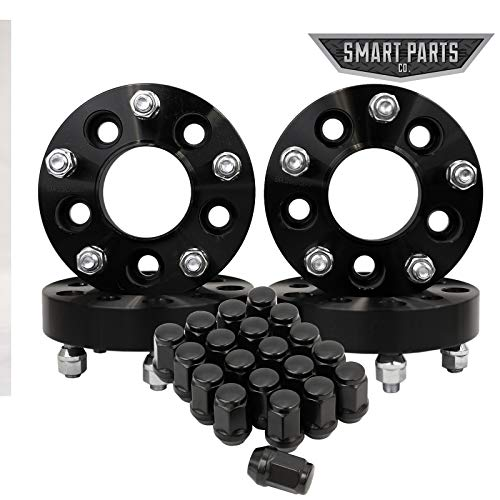 Smart Parts 4pc Black Wheel ADAPTERS 5X4.5 to 5X5 1.25