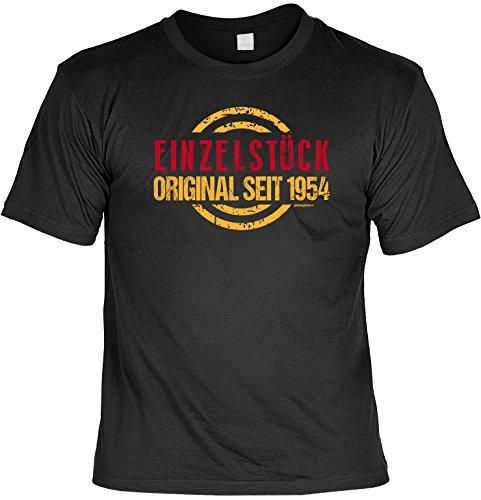 T-Shirt - Einzelstück - Original seit 1954 - lustiges Sprüche Shirt als Geschenk zum 63. Geburtstag