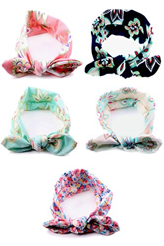 Urbun Headbands Synthetic Bunny Ears Hairbands