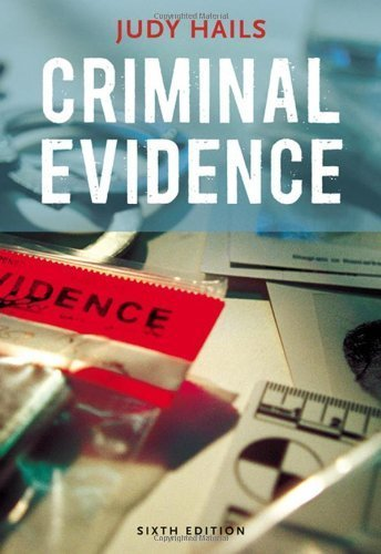Criminal Evidence by Hails, Judy (February 12, 2008) Paperback 6