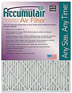 Wholehouse 17.5x27x1 (17.13x26.25x.75) MERV 8 Trane Replacement Filter