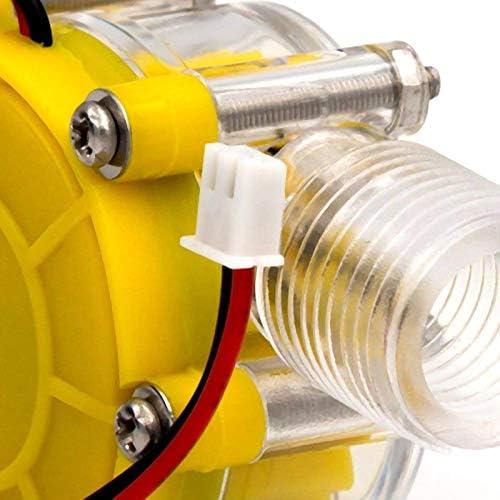 Iycorish Pompe /à D/ébit DEau 10W G/én/érateur Hydro Conversion Hydraulique de D/ébit de Turbine 12V