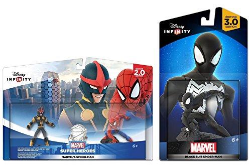 Disney Infinity Ultimate Spider-Man Playset w/ Black Suit Spider-Man Set NEW