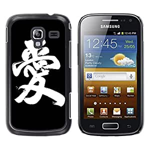 King Case - FOR Samsung Galaxy Ace 2 - Love World - Caja protectora de pl??stico duro Dise?¡Àado