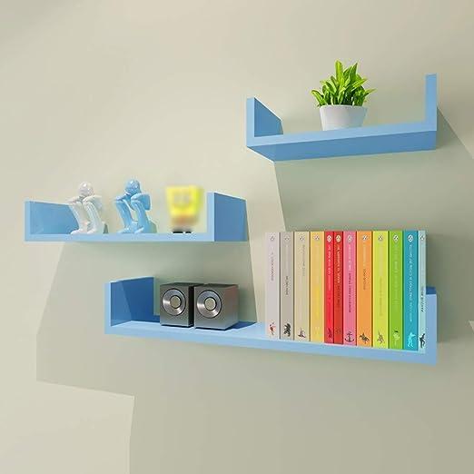 Shelf HLF- Estantería Creativa de Tres Piezas para estantería de ...