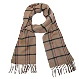 David & Young Soft Plaid Winter Scarf