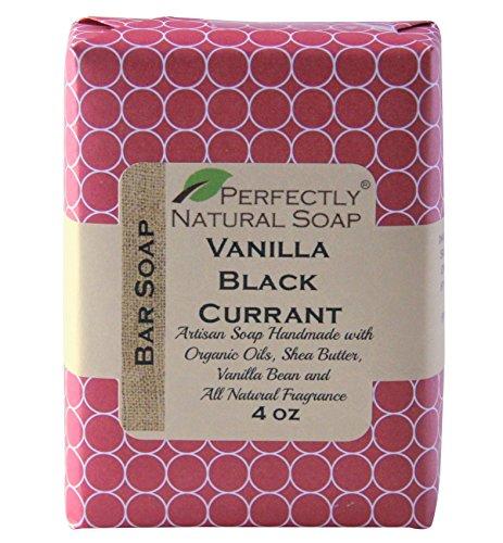 Vanilla Black Currant All Natural Handmade Bar Soap, 4 oz.