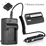 nikon coolpix 4300 battery - Kastar EN-EL1 Battery (1-Pack) and Charger Kit for Nikon ENEL1, Minota NP-800 and Nikon Cooipix 4300 4500 4800 5400 5700 775 8700 880 885 995 CoolpixE880 and Konica Minota DG-5W Dimage A200 Cameras