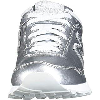 New Balance Women's 515 V1 Sneaker, Silver Metallic/Silver Metallic, 6.5 M US