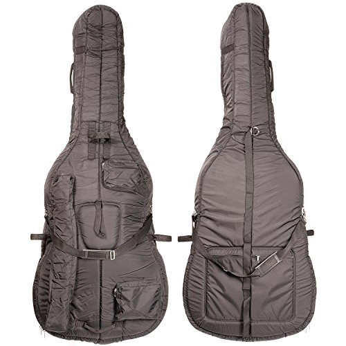 Bobelock 3/4 Upright String Double Bass Soft Bag - Black