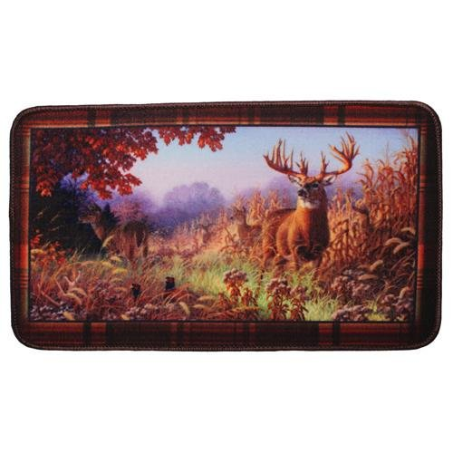 Deer Scene Door Mat (Welcome Deer)