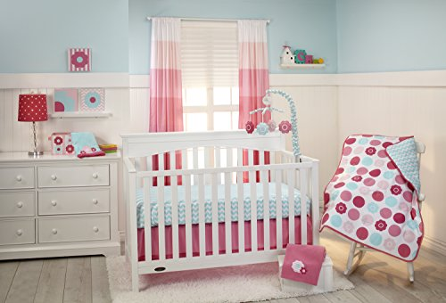 Little-Bedding-by-NoJo-3-Piece-Crib-Set-Tickled-Pink