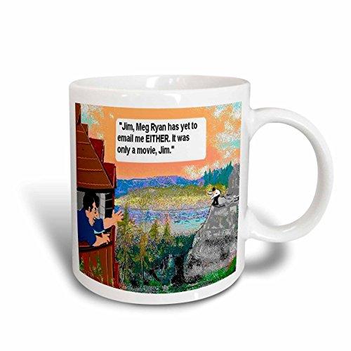 3dRose Londons Times Funny Relationships Cartoons - You ve Got Mail - 11oz Mug (mug_1914_1)