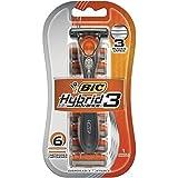 BiC Hybrid Advance for Men, Shaver System 1 ea (Pack of 11)
