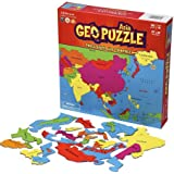 GeoPuzzle Asia - Educational Geography Jigsaw Puzzle (50 pcs) - by Geotoys