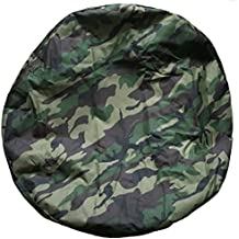Aautohome GREEN Spare Tire Cover Universal Overdrive Fit For Jeep, Trailer, RV, SUV, Truck and Many Vehicle, Wheel diameter 29.75inch - 32.75inch, Tire Protector, Camouflage