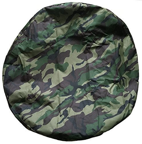Aautohome GREEN Spare Tire Cover Universal Overdrive Fit For Jeep, Trailer, RV, SUV, Truck and Many Vehicle, Wheel diameter 26.75inch - 29.75inch, Tire Protector, Camouflage (265 75r16 Tires For Sale)