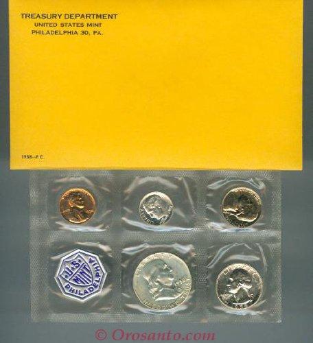 1958 US Mint Proof Set