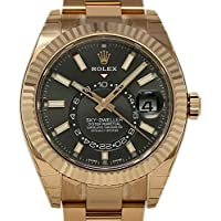 Rolex Sky-Dweller Swiss-Automatic Male Watch 326935 (Certified Pre-Owned)