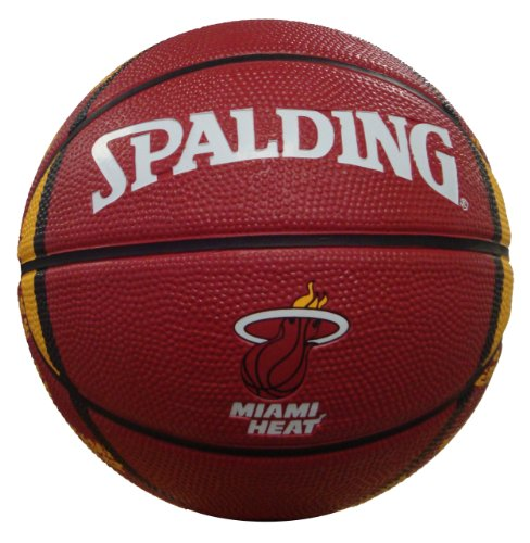 NBA Miami Heat Mini Basketball, 7-Inches (Miami Basketball)