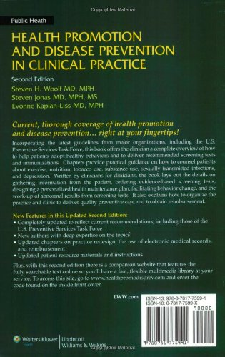 Health Promotion and Disease Prevention in Clinical Practice (Health Promotion & Disease Prevention in Clin Practice)