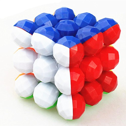 QTMY Plastic Irregular Spherical Speed Magic Cube Puzzle