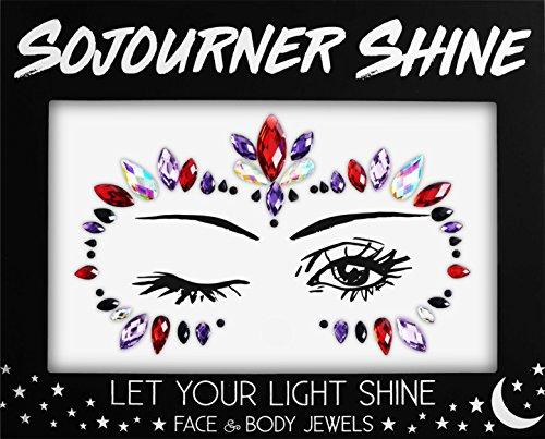 Face Jewels Glitter Gems Rhinestones - Eye Body
