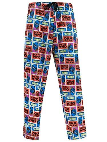 Doctor Who Herren Dr Who Freizeithose Schlafanzug
