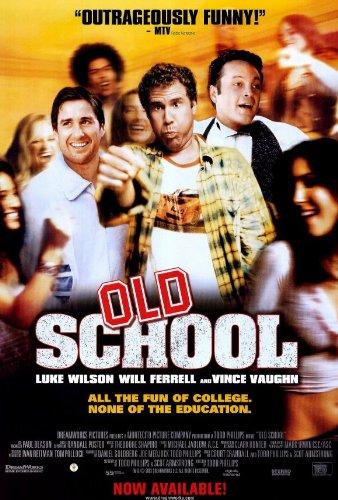 Old School Poster Movie B 27x40 Luke Wilson Will Ferrell Vin
