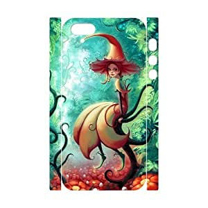KSDHPNECASE Diy 3D Bumper Plastic,Customized Of Fairy Case for iPhone 5,5S