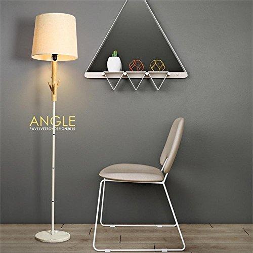 HOMEE European-style floor lamp series creative wood scandinavian modern living room floor lamp study bedroom bedside table lamp - retro floor lamp by HOMEE