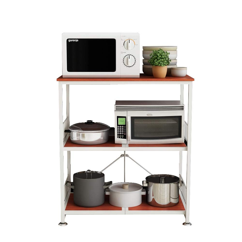 Amazon.com - Kitchen shelf HUO Piso De Rack De Cocina De ...