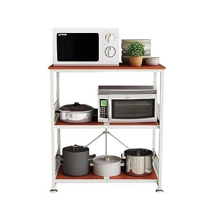 Amazon.com - Kitchen shelf HUO Piso De Rack De Cocina De ...