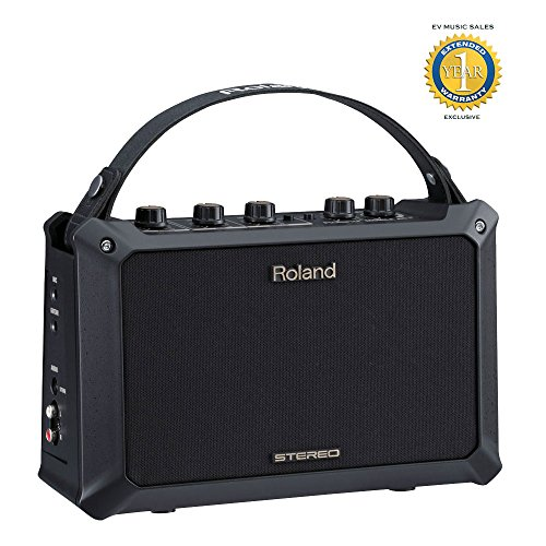 Roland MOBILE AC Acoustic Chorus Battery-Powered Acoustic Guitar Amplifier with 1 Year Free Extended Warranty by Roland