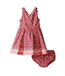 kate spade york Baby Girls' Border Print Dress Set