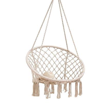 Garden Patio Garden Patio Hammocks Hanging Hammock Rope Swing Chair Macrame Hammock Seat Outdoor Indoor Garden Uk Mtmstudioclub Com