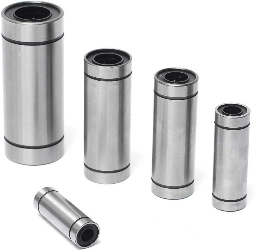 2pcs LM12LUU 12mm Long Linear Motion Bearing Ball Bushing 12x21x57mm CNC Parts