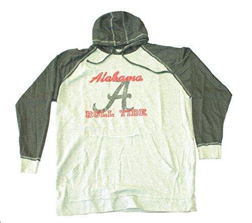 - Majestic Athletic NCAA Licensed Alabama Crimson Tide Pullover Hooded Jacket (3X)