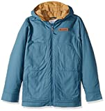 Columbia Little Boys' Loma Vista Hooded Jacket, Blue Heron, Small